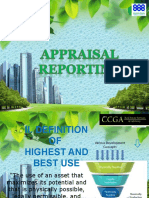 Appraisal Reporting Mrb