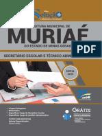 Apostila Digital Prefeitura de Muria - Mg - 2019 - Secret Rio Escolar e t Cnico Administrativo PDF (1)