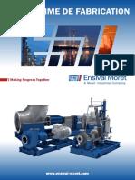 Ensival Moret pompes centrifuges catalogue generale
