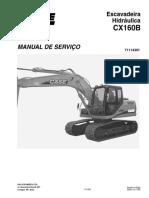 Cx160b_ Manual de Serviço_bra
