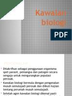 Kawalan Biologi - Pembentangan