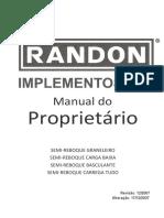 Manual do Proprietário Implementos RANDON