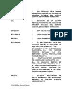 29-03-2021 Solicitud DeInhibicion Juez, Remocion Asistencia Legal Defensor Publico y Declinacion Accion Amparo