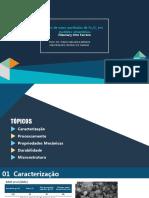 Apresentação Seminário Nano Fe2O3