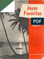 1955 - Joyas Favoritas N° 2 (Honorato T. Reza)