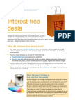 About interest Free Deals