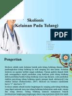 Askep SKOLIOSIS