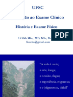 2 hx exame clinico