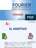 El Adjetivo - Semana 8 - Lenguaje