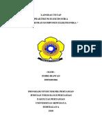 Pengukuran Komponen Elektronika (Laporan Tetap Praktikum Elektronika I)