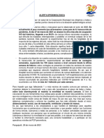 Comunicado Alerta Epidemiológica - Panguipulli