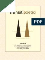 Transiti Poetici Vol XXIII