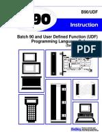 Batch90+UDF Language Reference 4.0