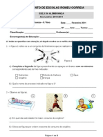 Ficha 6.º CN - Respicelular + Sistema Urinário + Pele