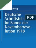 Deutsche Schriftsteller Im Banne Der Novemberrevolution 1918_ Bernhard Kellermann, Lion Feuchtwanger, Ernst Toller, Erich Mühsam, Franz Jung ( PDFDrive )