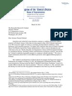 Rep. Jim Jordan Letter To Garland