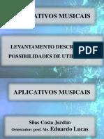 Aplicativos Musicais Slide