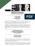 Resoluciones abril yComentarios