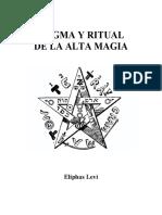 205163603 Eliphas Le Vi Dogma y Ritual de La Alta Magia PDF