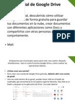 Presentacion Google Drive Para Android