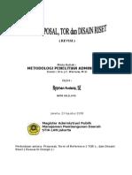 Perbedaan TOR, Proposal dan Riset Desain