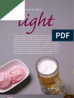 Productos que se dicen Light