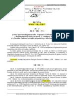 Decizia 15 din 2014 actualizata martie 2019