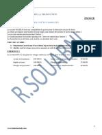 Série d'Exercices Sur La Gestion de La Production Bac Economie Et Gestion