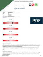Felder & Silverman - Index of Learning Style en Español, con interpretación