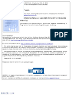 3 HP Enterprise Services Uses Optimization for Resource Planning