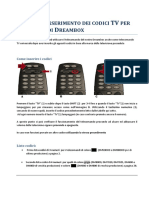 Guida Insermento Codici TV v1 1. V171478292