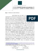Manifestação e 13o. Relatório Unif