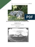 Reconnaissance Report on the Taylor Bray Farm/ Richard Taylor 1640 Homesite