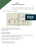 TD 02 Partie 02 Amplificateur à Transistor FET