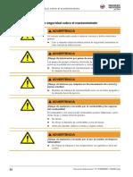 VP2050A Extracto Mantenimiento Manual Operacion