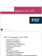 The Companies Act 1956 New
