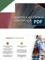 Semiótica Aplicada à Comunicação - Slides