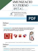 Expo Isoinmunización Mat-fet