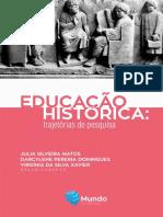 EDUCAÇÃO HISTÓRICA - Trajetórias de pesquisas[16746]