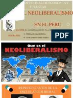 HISTORIA ECONOMICA NEOLIBERALISMO EN EL PERU