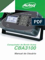 Manual do Usuário CBA3100