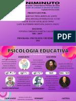 LINEA DE TIEMPO PSICOLOGIA EDUCATIVA