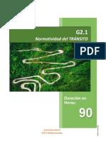 GUIA 2.1 - NORMATIVIDAD DE TRANSITO (1) Valores