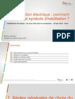 Habilitation Electrique Choix Symbole