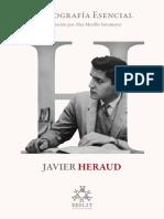Javier Heraud. Bibliografc3ada Esencial Redlit