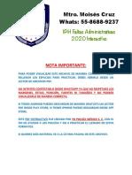 02.- I.P.H. FALTAS 2020 INTERACTIVO V2.0