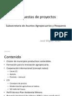 Propuestas de proyectos Gobernación del Valle - sector agricola y ambiental