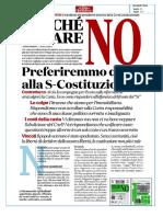 Perchc3a8 Votare No Referendum Costituzionale Il Fatto Quotidiano Gustavo Zagrebelsky