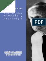 Marcuse, Herbert (2020) - Escritos sobre ciencia y tecnología