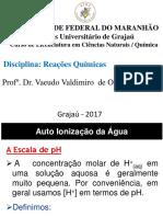 AULA - ÁCIDO-BASE